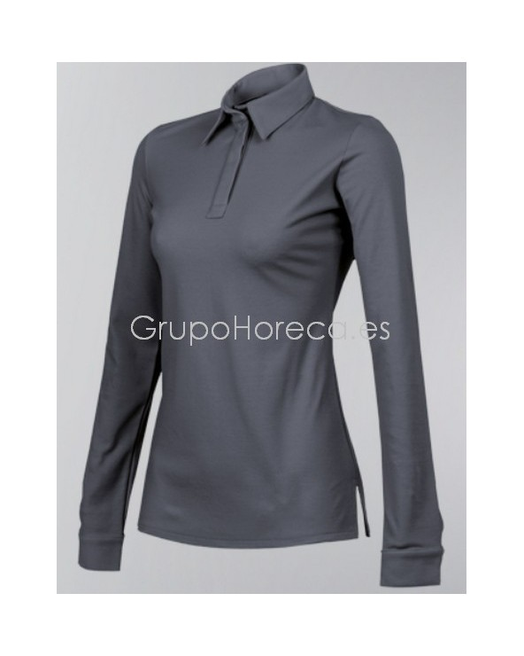 Polo UNA CLEMENT ML Anthracite talla S
