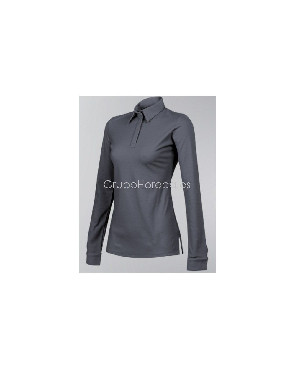 Polo UNA CLEMENT ML Anthracite
